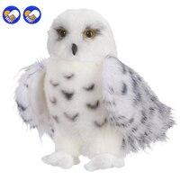 Een speelgoed Een droom Premium Kwaliteit Besneeuwde Witte Pluche Hedwig Uil speelgoed Grote 12-Inch Schattig Knuffeldier Zachte Perfect Cadeau Idee voor