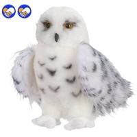 Un juguete de Un sueño de Calidad Premium Blanco Como la Nieve de Felpa Búho Hedwig juguete Grande de $ Number Pulgadas Adorable Peluche Suave Regalo Perfecto para