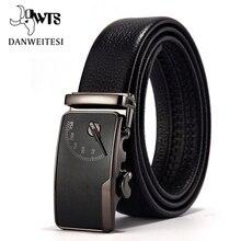 [DWTS] Men's leather belt buckle personality automatic belts