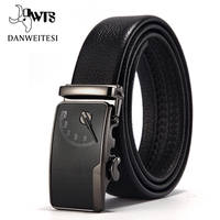 2016 Men S Leather Belt Buckle Youth Personality Automatic Belts Leisure Fashion Pure Bovine Leather Pants