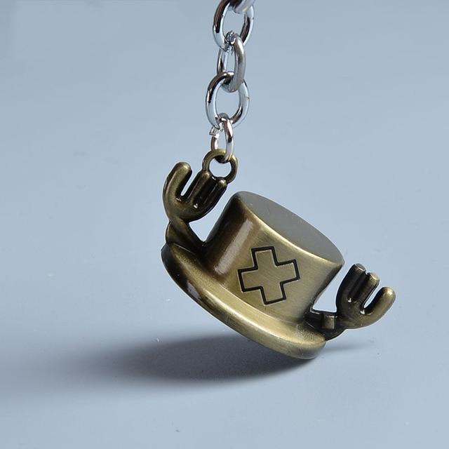 One Piece Luffy Straw Hat Keychain (3 Types)