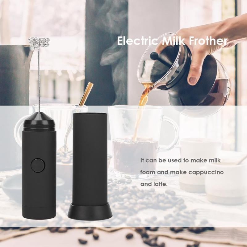 Mini Handheld Electric Milk Frother Foamer Home Kitchen Blender Food Processor Kitchen Food Mixer Blender Blenders     - title=