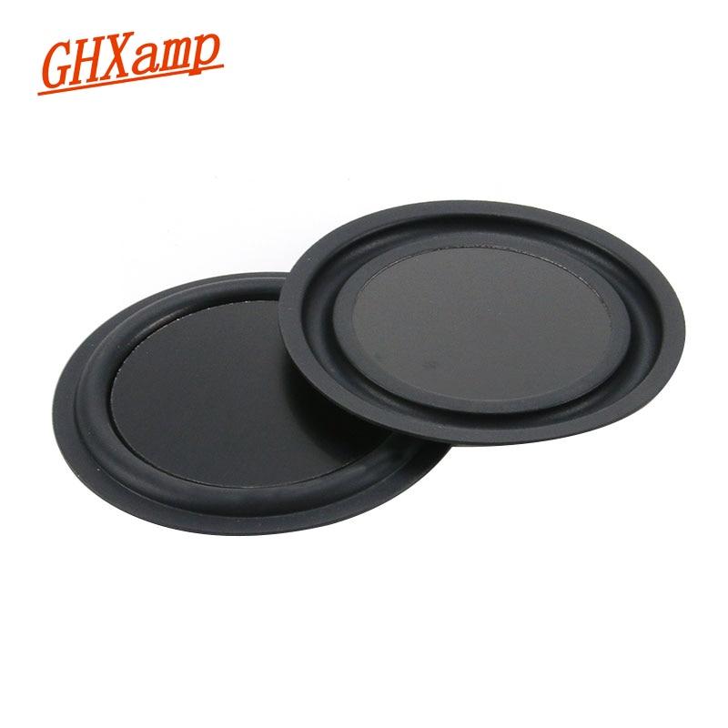 1 Pairs 85mm Runde Bass Heizkörper Niedrigen Frequenz Vibration Diy Hilfs Für 3 Zoll 3,5 Inch Tragbare Bluetooth Lautsprecher Diy Exquisite Handwerkskunst;