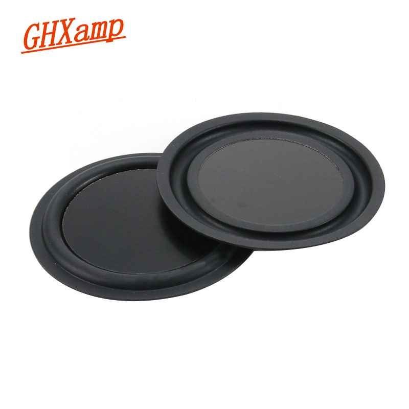 1Pairs 85MM Round Bass Radiator Low Frequency Vibration DIY Auxiliary For 3 Inch 3.5inch Portable Bluetooth Speaker DIY