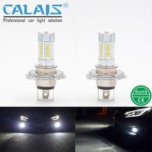 Кале LED Автомобилей автомобильный АВТО противотуманная фара лампа H4 H7 H8 H11 9005 9006 CREE чип освещение лампы супер яркий для DRL
