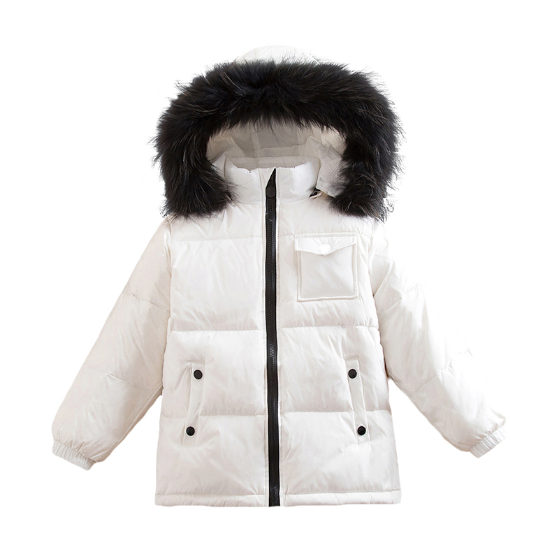 2~6Year Baby Russian Winter child Real Racoon Fur Duck Down Jacket for Girls Outwear Boys Coats Kids Outdoor Snowsuit Waterproof roomble люстра racoon white