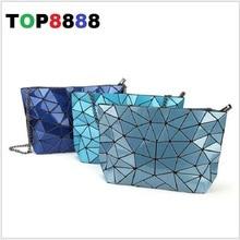 13 Colores de la Señora Cadena Baobao Bolsas de Mensajero Marcas Famosas de Lujo Geometría Estilo Señoras Crossbody Bolsa de la Cadena Bolsa de Hombro de Las Mujeres