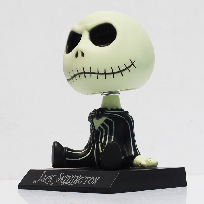 The Nightmare Before Christmas Jack Moving Head PVC Action Figure ...