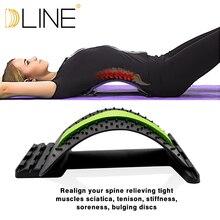 Yoga Mat Waist Massage Flexibility Training Gym Sports Correction For Exercise And Pilates