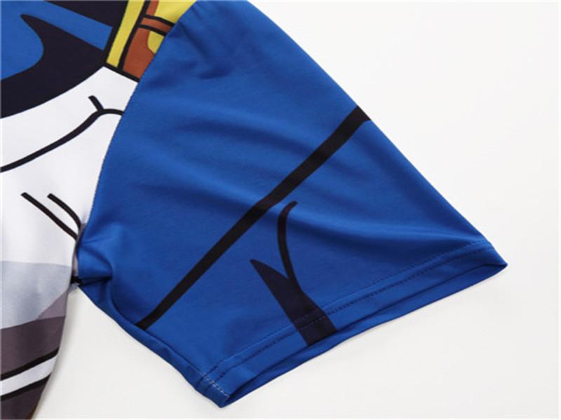 Dragon Ball Z T Shirts Sleeve