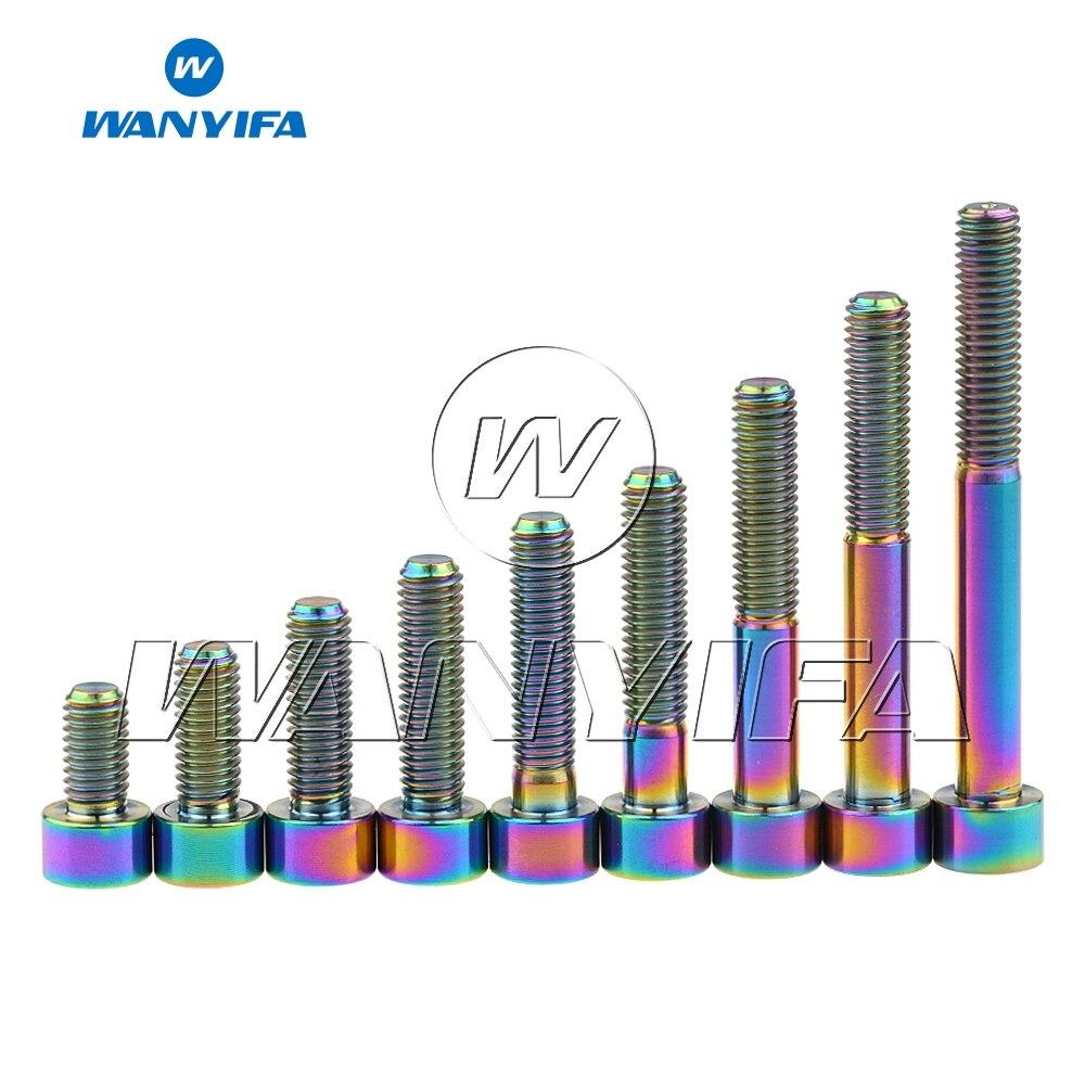 Grade 5 Ti Alloy Titanium Taper Bolts Partially Threaded M8 x 90mm 4