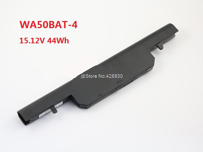 Laptop Battery For CLEVO WA50BAT-4 15.12V 44Wh 6-87-WA50S-12L2 New and Original hot sale original quality new laptop battery for clevo d450tbat 12 d450t 87 d45ts 4d6 14 8v 6600mah free shipping