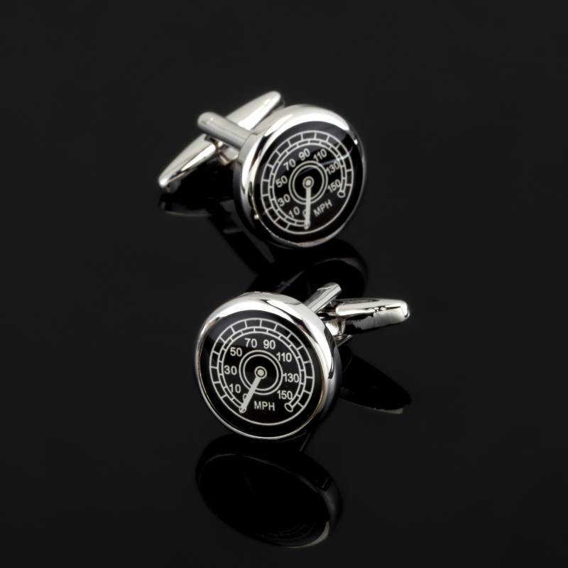 XK467 Black car speed table 3 for sale free shipping Cufflinks