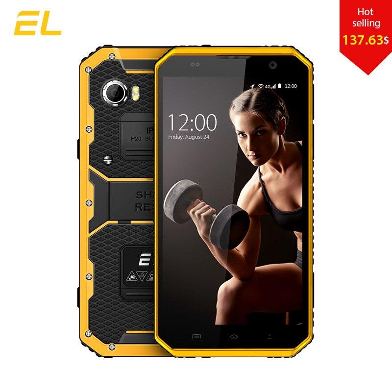 E & L W9 Смартфон Android 6.0 дюймов 4 г IPS Full HD Octa core 4000 мАч IP68 прочный Водонепроницаемый ударопрочный телефон сенсорный мобильный телефон