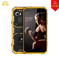 E L W9 Screen Touch Mobile Phone Waterproof Dustproof Phone Android 6 0 FHD 2GB Ram