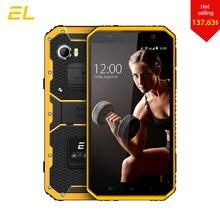 E & L W9 Смартфон Android 6,0 дюймов 4G ips Full HD Octa Core 4000 мАч прочный водонепроницаемый с IP68 Ударопрочный телефон сенсорный мобильный телефон