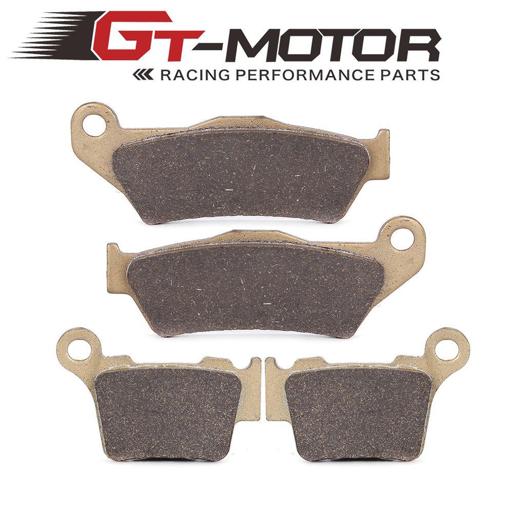 Motorcycle Front and Rear Brake Pads For KTM EXC125 2004-2007 SX125 2004-2014 SX1502008-2014 motorcycle front and rear brake pads for ktm exc egs exe lc2 125 1994 2003 black brake disc pad