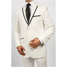 2017 New Arrival font b Men b font Suit Costume Homme Smoking Groom Wedding Suits Notched