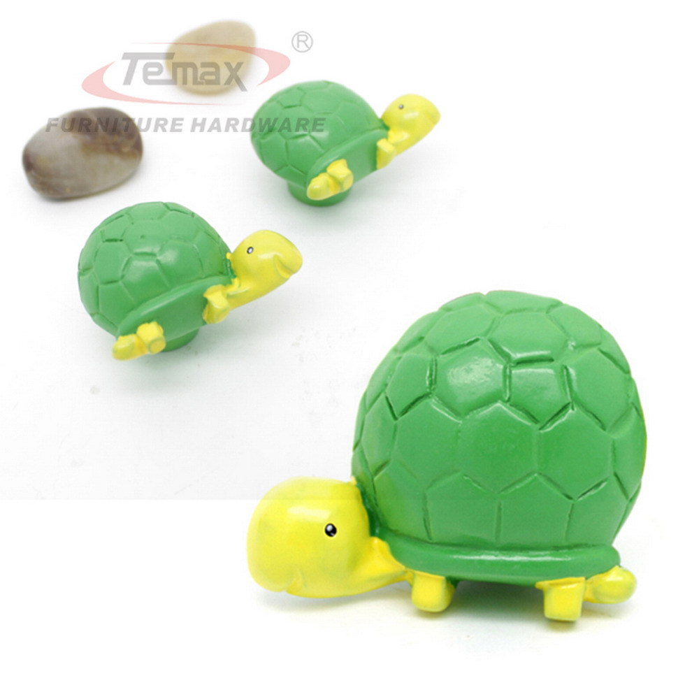 US $17 98 |10pcs/lot New Cartoon Lovely Turtle Pulls Cabinet Drawer Handles  Gate Door Dresser Knobs Kids Bedroom-in Cabinet Pulls from Home