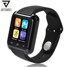 JAYSDAREL U80 Pulsera Bluetooth Reloj Elegante Deporte de Fitness Dispositivo Portátil 1.44 pulgadas U8 Smartwach para Android iOS PK GT08 DZ09