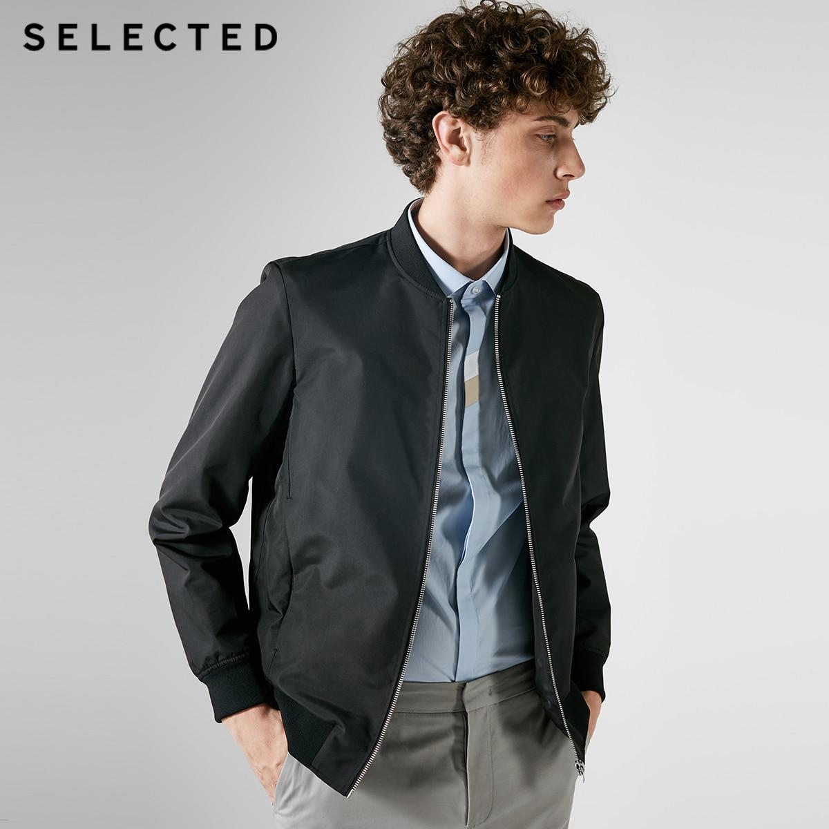 AUSGEWÄHLT männer Reine Farbe Baseball Kragen Reißverschluss Jacke S  4183OM506-in Jacken aus Herrenbekleidung bei  Gruppe 1