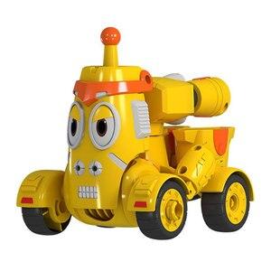 Image 2 - Yüksek kaliteli ABS eğlenceli Larva dönüşüm oyuncaklar aksiyon figürleri deformasyon araba modu ve Mecha mod doğum günü hediyesi