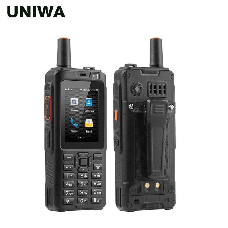 UNIWA Alpi F40 Del Telefono Mobile Zello Walkie Talkie IP65 Impermeabile FDD LTE 4G GPS Smartphone MTK6737M Quad Core 1GB + 8GB Cellulare - 2