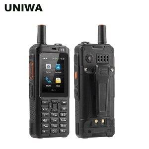 Image 2 - Портативная рация UNIWA Alps F40 мобильный телефон Zello IP65, водонепроницаемый смартфон FDD LTE 4G GPS, четырехъядерный MTK6737M, 1 Гб + 8 Гб, сотовый телефон