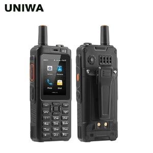 Image 2 - UNIWA האלפים F40 נייד טלפון Zello ווקי טוקי IP65 עמיד למים FDD LTE 4G GPS Smartphone MTK6737M Quad Core 1GB + 8GB נייד