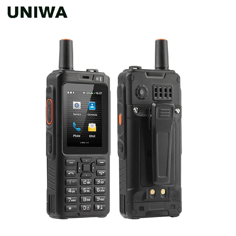 Uniwa alps f40 telefone móvel zello walkie talkie ip65 à prova dwaterproof água FDD LTE 4g gps smartphone mtk6737m quad core 1 gb + 8 gb celular - 2