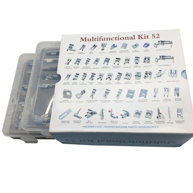 48,52, 32,42 prensadora de pies domestica máquina de coser trenzado ...