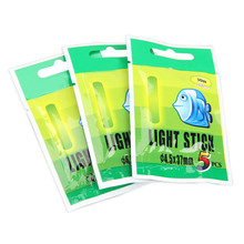 50Pcs 4.5*37 mmNight Fishing Luminous Float Fluorescent Light Stick Rod Multi-Color LightsDark Glow Stick Fishing Tools