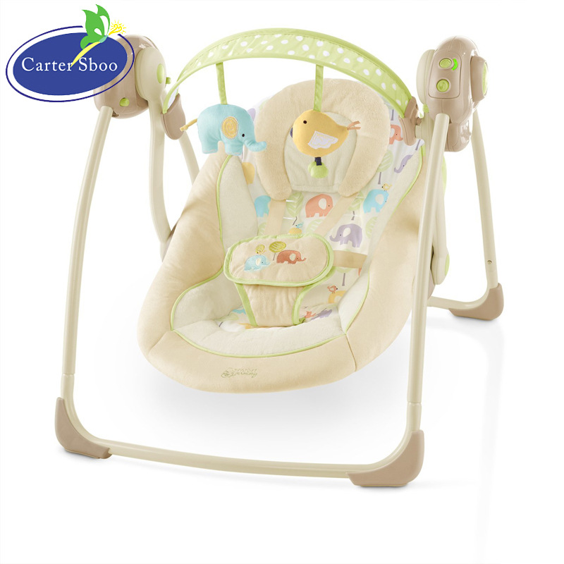 Vibration Baby Swing Chair Electric Baby Soothing Cradle Shaking Coax  Treasure Artifact BB Rocking Crib Bed