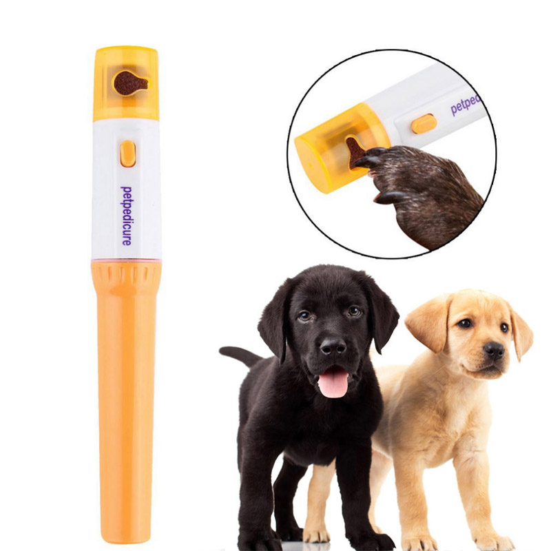 Electric Pet Nail Clipper Pedi Dog Cat Paw Nail Grinder Painless Cutter Pets Trimmer File Kit Grooming Products For Animal