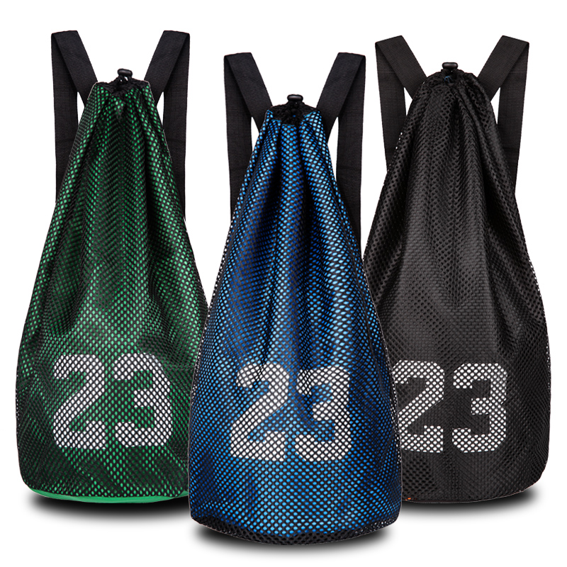2019 New Arrival Sport Drawstring Bucket Bags Backpacks For Football Basketball Camping Cycling Hiking Men Outdoor Trainning Bag