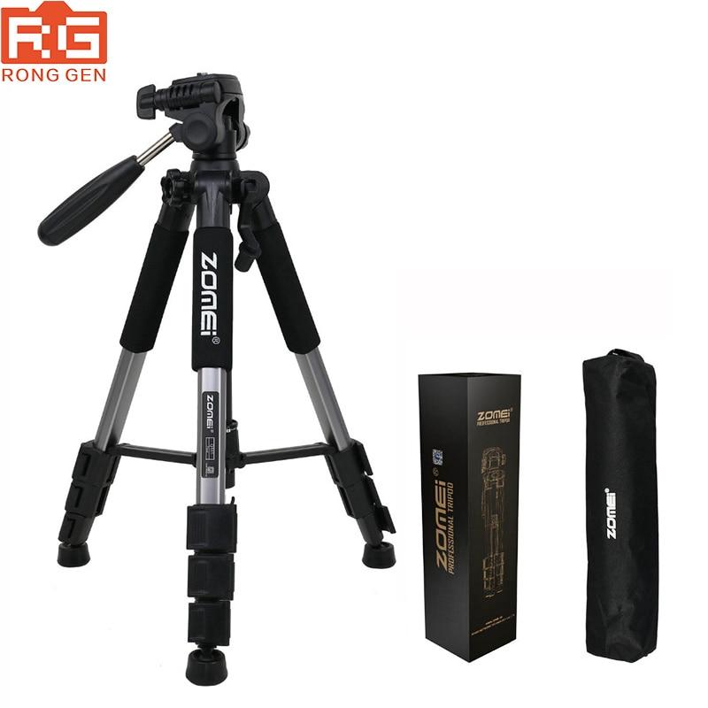 ZOMEI Q111 Professional Portable Travel Aluminum Camera Tripod Pan Head for SLR DSLR Digital Camera Three