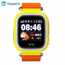 Enfants Smart Watch Q90 Bébé GPS Smartwatch SOS Appel Dispositif de Localisation Tracker Anti Perdu Moniteur Enfants Montre
