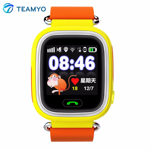 Children Smart Watch Q90 Baby GPS Smartwatch SOS Call Location Device Tracker Anti Lost Monitor Kids Watch