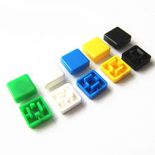 A14 Short Feet Square Switch Button Cap Match with 10*10mm Switch Cover (10pcs/lot)(China)