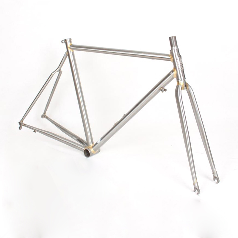 Chrome molybdenum steel FIXED gear Bike Copper plated frame DIY frame fixie bike frame 700 C 520 tube 50 cm 52 cm 53cm 55cm 58cm fixed gear bike frame matte black bike frame fixie bicycle frame aluminum alloy frame with carbon fork