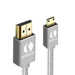 Image 2 - Mini HDMI to HDMI Cable compatible with HDMI 2.0a/b, 2.0, 1.4a (Ultra HD, 4K, 3D, Full HD, 1080p, HDR, ARC, Highspeed