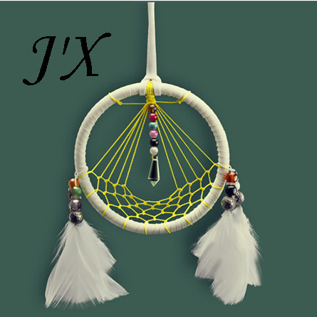 New Native American Indian Totem Dream Catchers Home Decor Original Design Dreamcatcher With Feathers Nets And