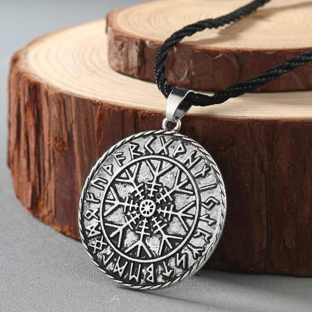 Valknut Norse Punk hommes collier pour femmes bijoux Mjolnir pendentif mauvais œil Viking slave bijoux Talisman Vintage collier