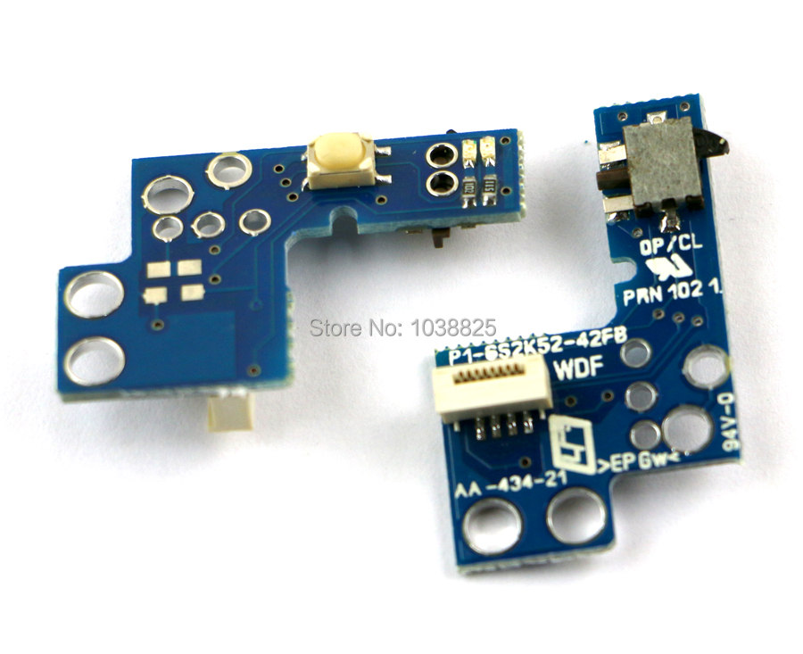 9W 900xx 9000x 90000 On/Off Power Reset Switch Board For Ps2 Playstation 2 Replacement Repair Parts