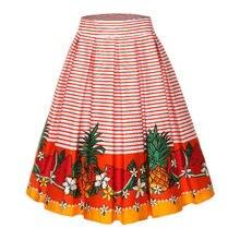 712de846124b5d Audrey Hepburn Print Skirt Promotion-Achetez des Audrey Hepburn ...
