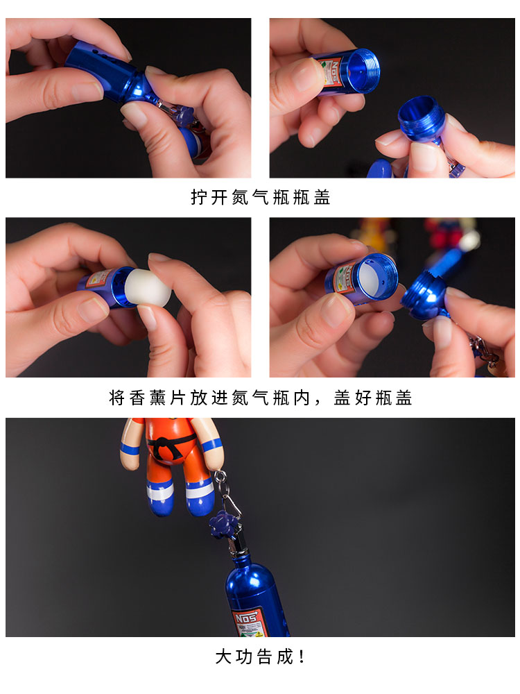 Trendy car hanging violent bear Star Wars Spider Man car pendant naruto Monkey King car Pendant car accessories interior in Ornaments from Automobiles Motorcycles