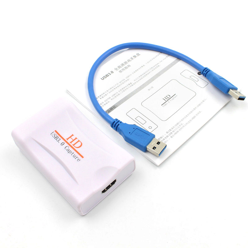 High Quality USB 3.0 HD Game Live Streaming Record Logger Storage 1080P DVR Card Video Surveillance Capture Device Parts