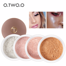 O.TWO.O Brand High Gloss Loose Powder Makeup Contour Palette Concealer Brightening Complexion