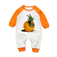 Infant Rompers Long Sleeve Baby Boys Girls Jumpsuit Dragon Ball Cartoon Newborn Babe Clothing Winter Toddler