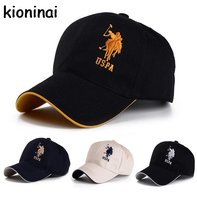 Polo Cap USPA Baseball Cap Sport Hat Gorras Planas Snapback Caps Hip Hop Hats Last Kings Snapbacks Casquette Cotton Adjustable